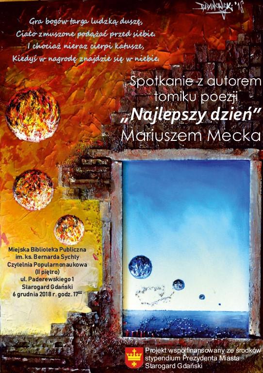 Spotkanie autorskie z Mariuszem Mecka