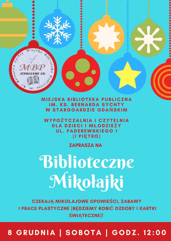 Biblioteczne Mikołajki 2018