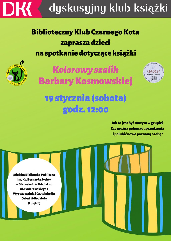 DKK dla dzieci_Kolorowy szalik