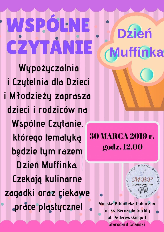 WSPÓLNE CZYTANIE_ Dzień Muffinka