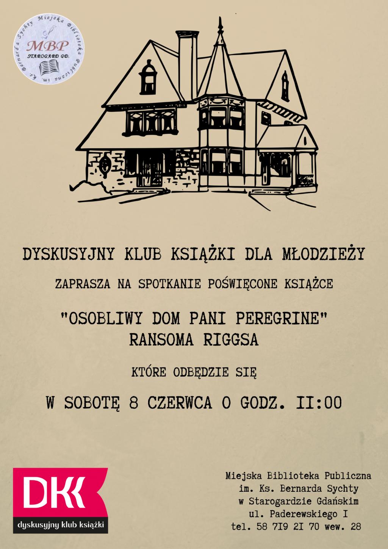 DKK dla młodzieży_Osobliwy dom pani Peregrine