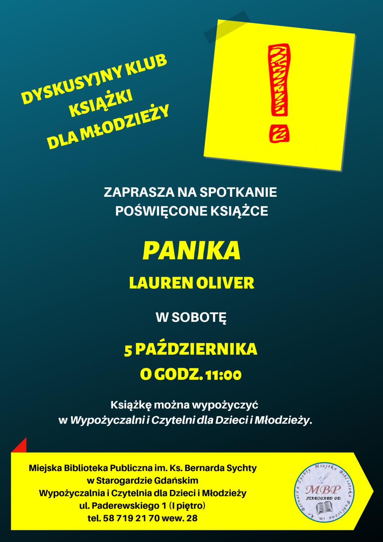 DKK dla młodzieży_Panika