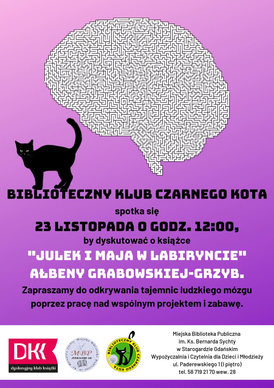 DKK dla dzieci_Julek i Maja w labiryncie Ałbena Grabowska-Grzyb