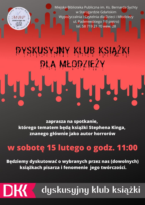 DKK dla młodzieży_twórczość Stephena Kinga