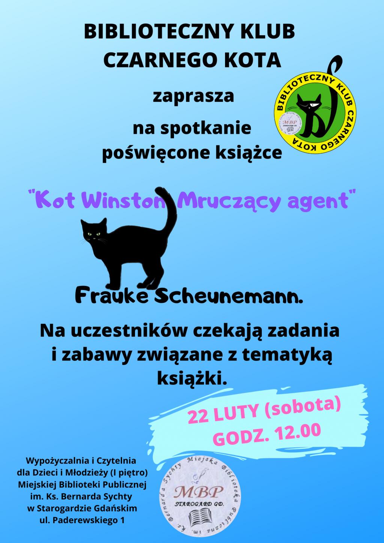 DKK dla dzieci_Kot Winston Mruczący agent