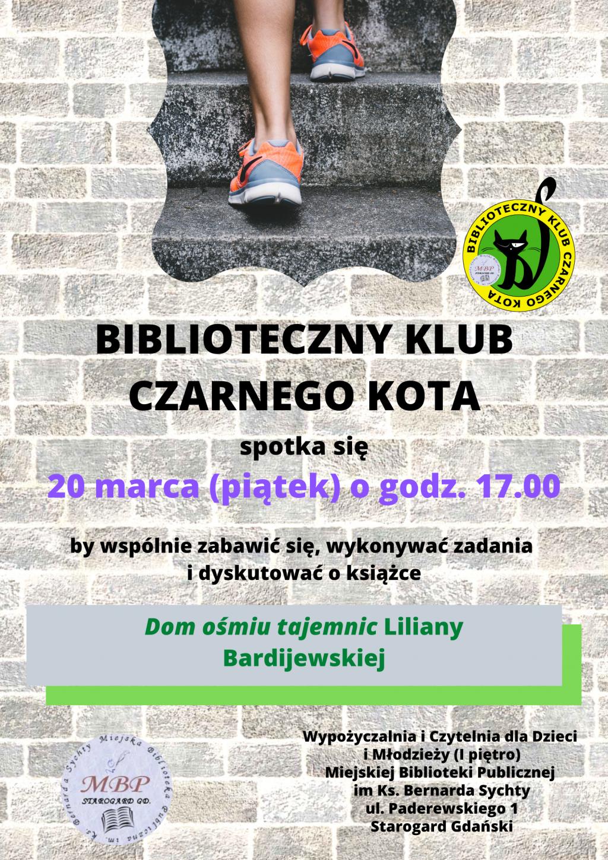DKK dla dzieci Klub Kota Dom ośmiu tajemnic